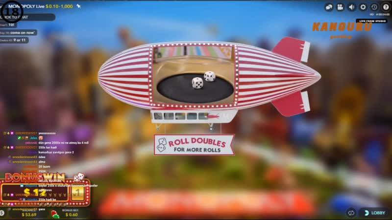 Casino Sarayi - 8 Roll Dönüyoruz, Monopoly Yine Yapacağını Yapıyor !!