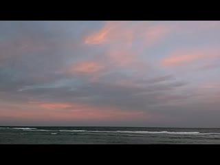 Sunset in marsa alam, egypt 2020