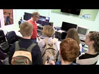 Экскурсия юных журналистов на СТВ