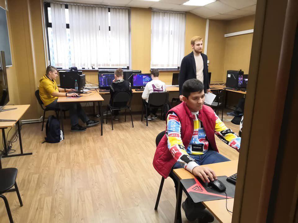 Кафедру киберспорта РГУФК посетили учащиеся школы № 2051