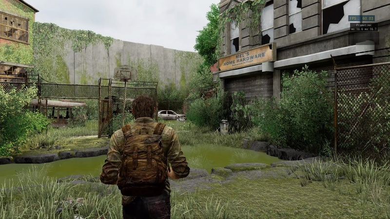 The Last of Us - The Quarantine Zone 4K 60 FPS - RPCS3s Future Performance (Proof of Concept)