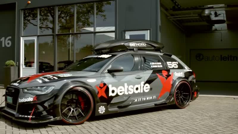 Audi RS6 DTM. Самый безумный сарай в мире!