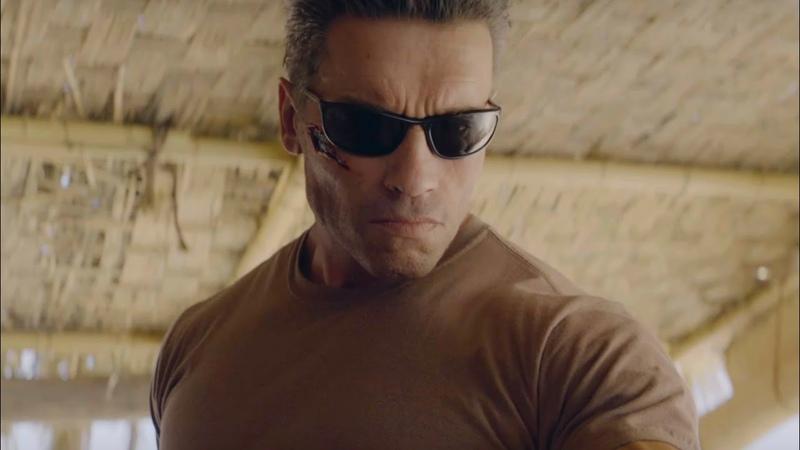 Terminator Kills John Connor Scene Terminator Dark Fate 2019 4K Movie Clip