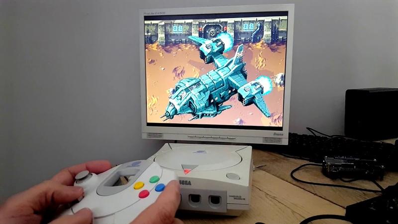 Xeno Crisis Dreamcast test