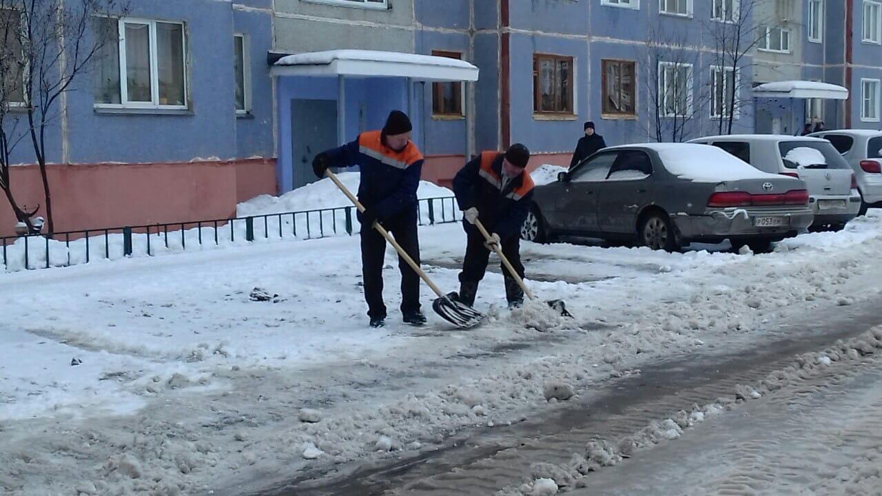 Механизированная уборка улица Ульяновская дом 8