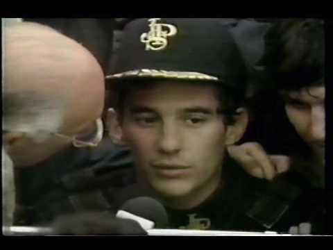 Murray Walker interview Ayrton Senna