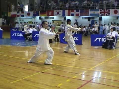 第三屆世界盃太極拳錦標賽 24式太極拳 男子甲組 第二名 林仕榮 民生分會