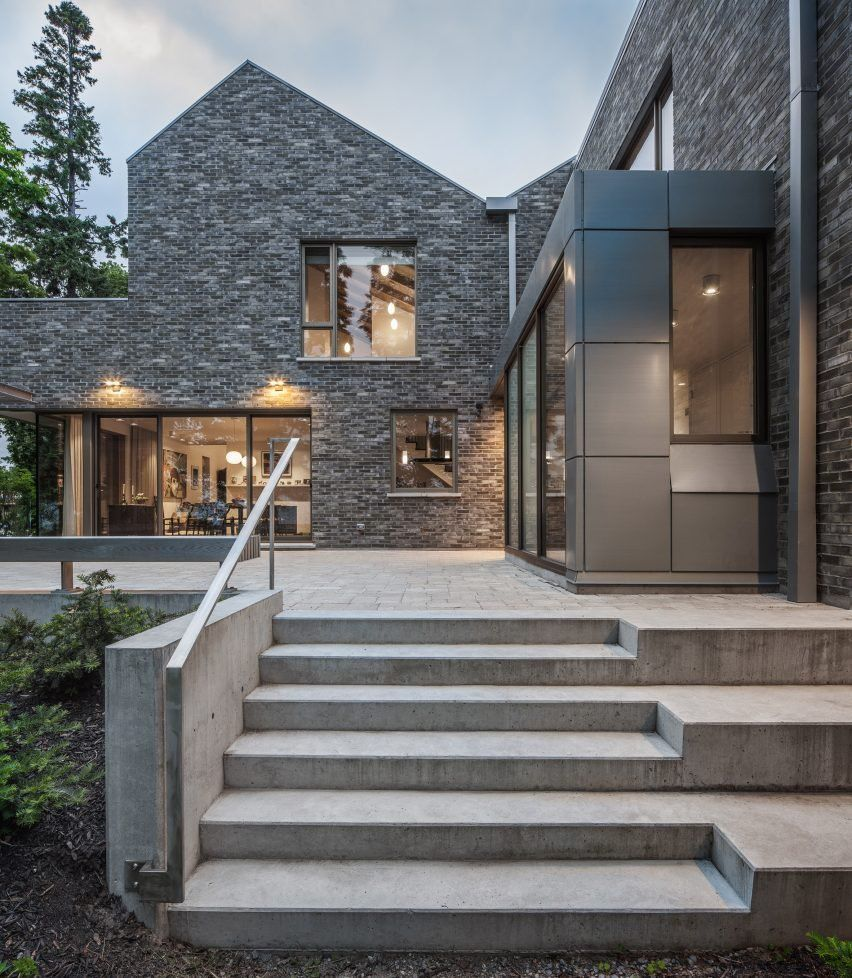 Farm buildings inform design of Canadian lakeside home by Trevor Horne Architects