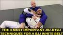 The 3 Most Important Jiu Jitsu Techniques For A BJJ White Belt by John Danaher