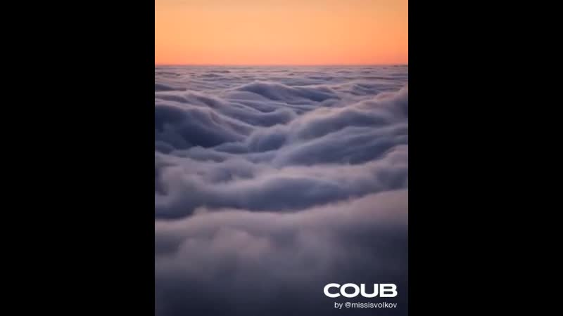 Above an Ocean of Clouds