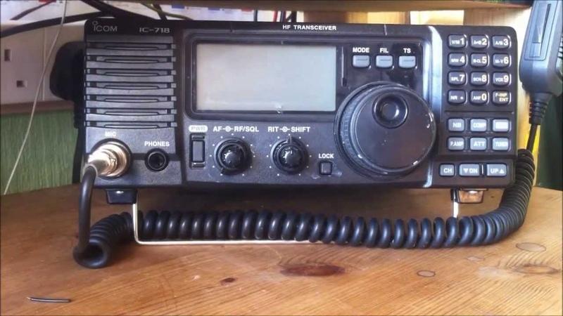 Icom IC 718 Radio Review