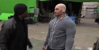 Diesel Time : Paul Walker Imitates Vin Diesel On The Set Of \'Fast & Furious\'