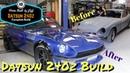 Complete Home Build Datsun 240z Restoration in 10 minutes