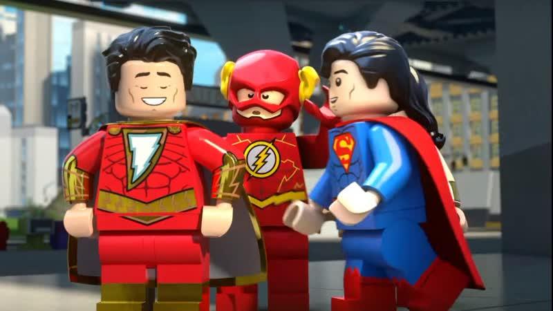 LEGO DC Шазам Магия и Монстры Трейлер