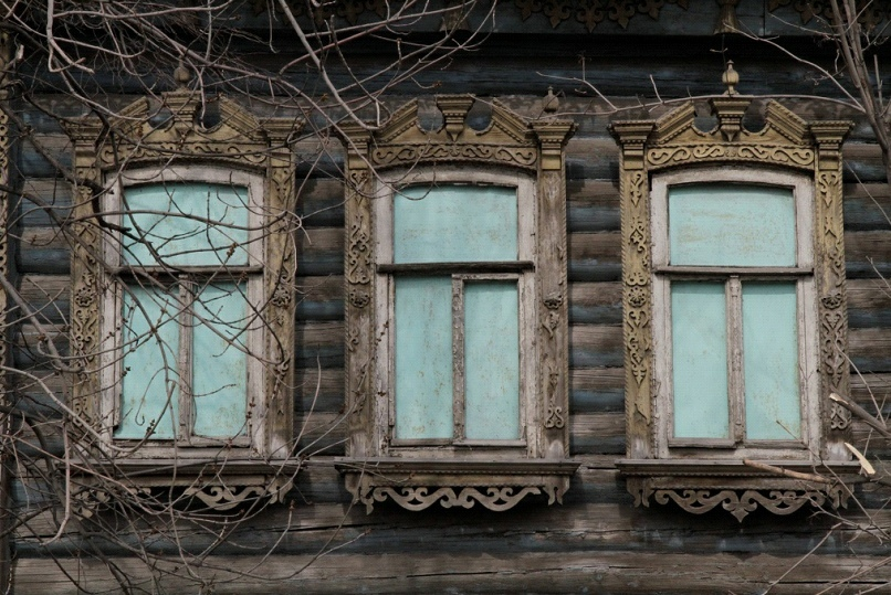 Наличники дома на ул. Карла Маркса