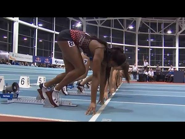Women's 60m Race at AIT Grand Prix 2020