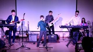 Выступление в Доме молодежи ЦАРСКОСЕЛЬСКИЙ  Cover-группа BLUE ELECTRICAL TAPE и другие