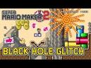 Super Mario Maker 2's Craziest Glitch The Black Hole Glitch