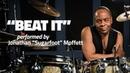 Michael Jackson s Drummer Jonathan Moffett Performs Beat It