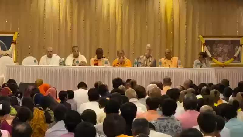 Вручение призов Санкиртана Джуху Мумбаи 25 01 2020