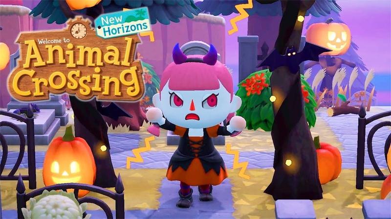 Animal Crossing New Horizons Halloween Fall Update Trailer