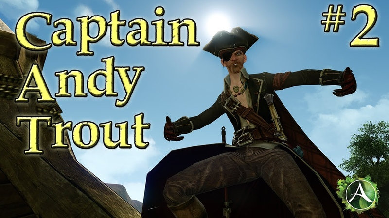 The Tale of Captain Andy Trout - A Virgin Voyage [Part 2]