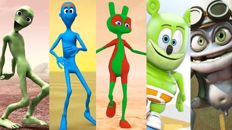 Dame tu cosita VS Chocobodi VS Kupe Dance VS Gummy Bear VS Crazy Frog VS El Baile del Sapito