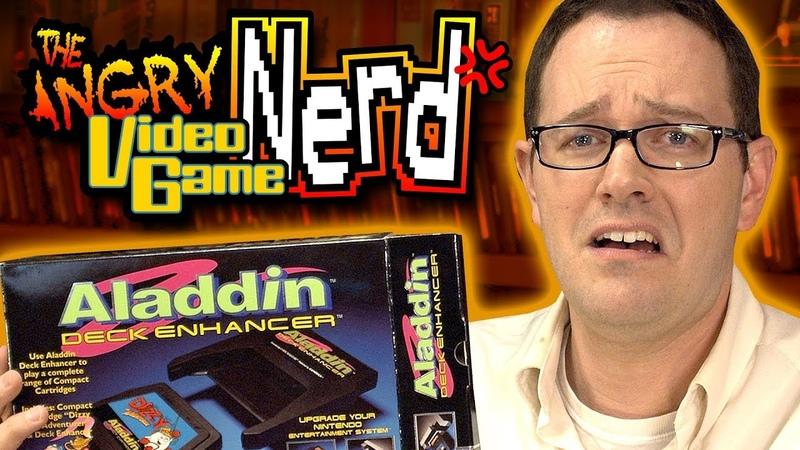 Aladdin Deck Enhancer NES Angry Video Game Nerd AVGN