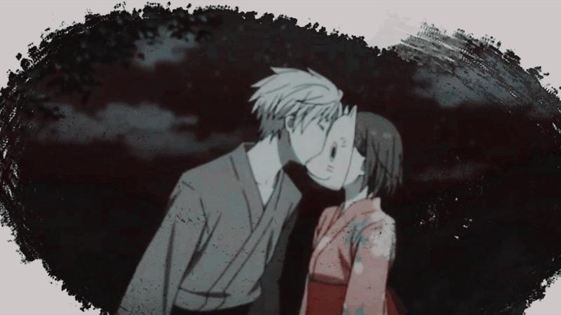 ► Аниме клип 「AMV」 В лес где мерцают светлячки Into the Forest of Fireflies' Light