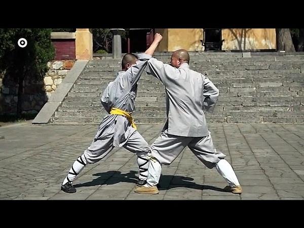 Shaolin kung fu small Buddha's 18 hands (luohan shiba shou), fighting techniques