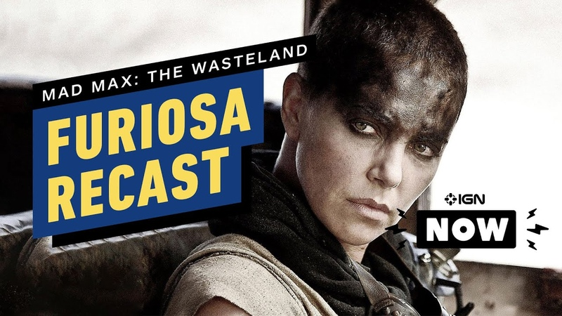 Mad Max Charlize Theron on 'Heartbreaking' Recasting of Furiosa IGN Now