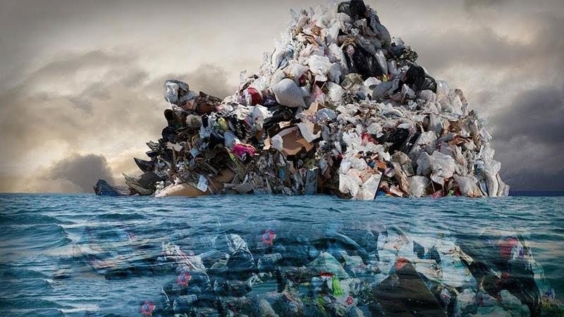 ОГРОМНОЕ тихоокеанское мусорное пятно