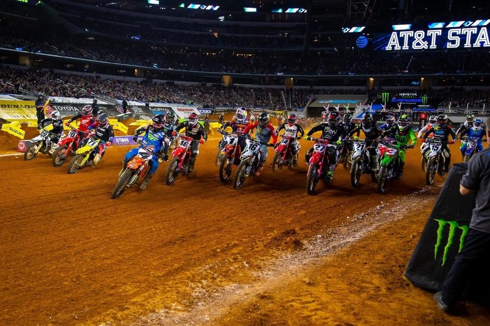 AMA Supercross 2020, этап 8 - Арлингтон
