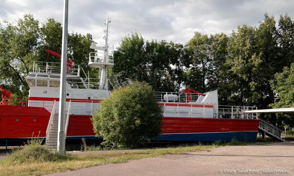 Корабль в Парке Победы, Саратов 2020