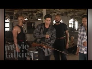 Shahrukh Khans EXCLUSIVE NEVER SEEN BEFORE Action Stunts from DUPLICATEFlashback