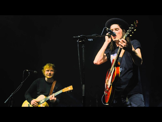 James Bay x Ed Sheeran Let It Go Cambridge Corn Exchange