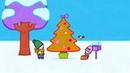 Мультфильмы для Малышей - Рисунки Тёмы - Нарисуй новогоднюю ёлку