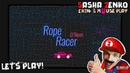 Rope Racer O'Neon Gameplay (Chin Mouse Only)