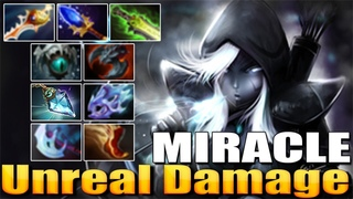 Miracle Drow Ranger - Unreal Damage | Best Pro MMR - Dota 2