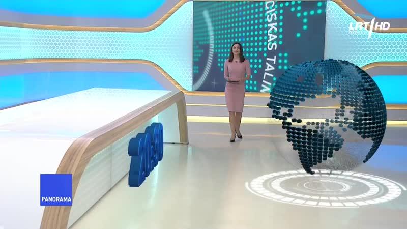 LRT HD - начало Панорамы (17.06.2020)