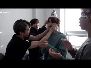 [RUS SUB] [РУС САБ] [BANGTAN BOMB]  С днём рождения, Джин! Happy Birthday Jin!
