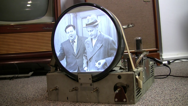 A quick look inside a Vintage 1949 Admiral TV