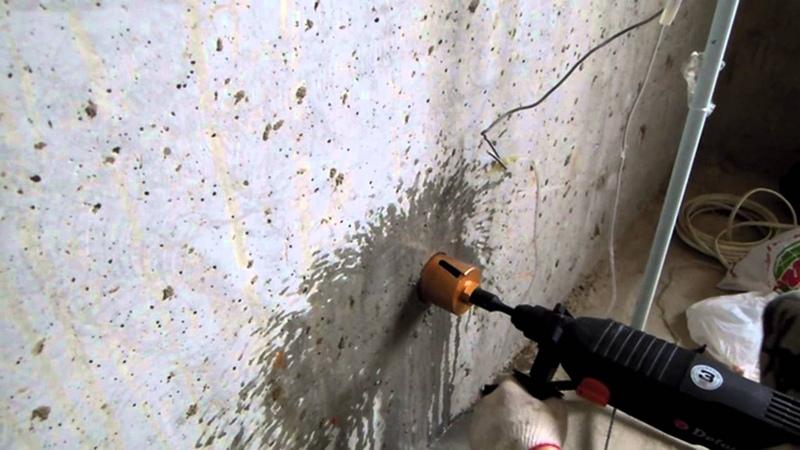 Алмазная коронка по бетону FIT