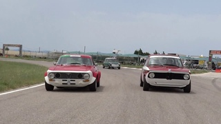 1973 Alfa Romeo GT Veloce 2.0 and 1969 BMW 2002 Ti at Megara Race Circuit.