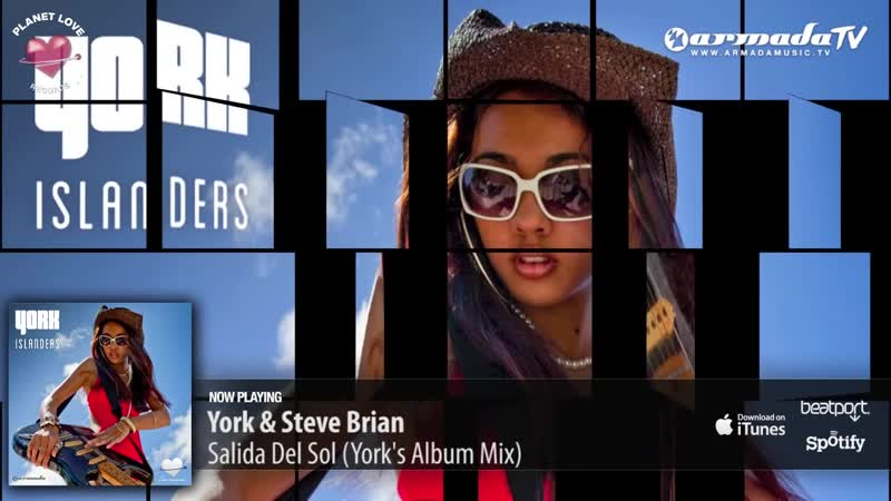 York Steve Brian - Salida Del Sol (Yorks Album Mix) - YouTube