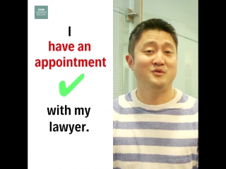 Business english using appointment and meeting