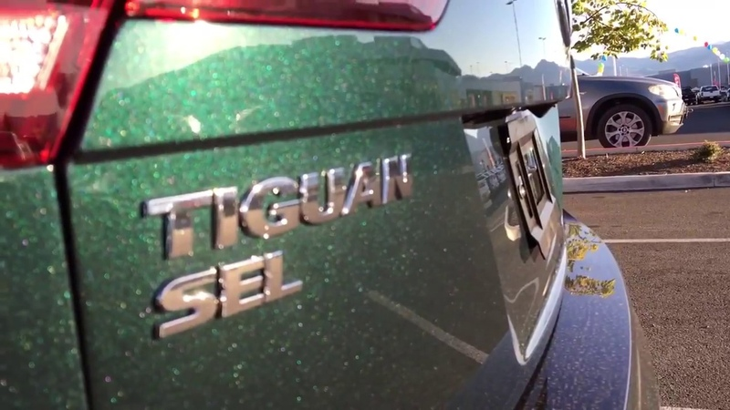 2018 Tiguan SEL Dark Moss Green Metallic