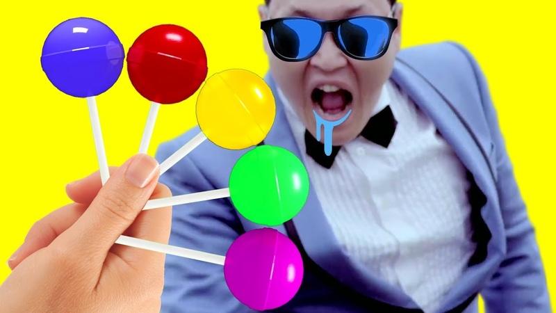 Lollipop Finger Family Song   Gia Đình Ngón Tay Kẹo Mút   Nhạc Hay Cho Trẻ Em