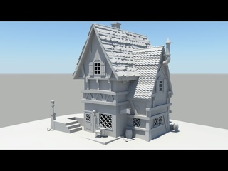 Autodesk Maya 2014 Tutorial Old House Modeling Part 3
