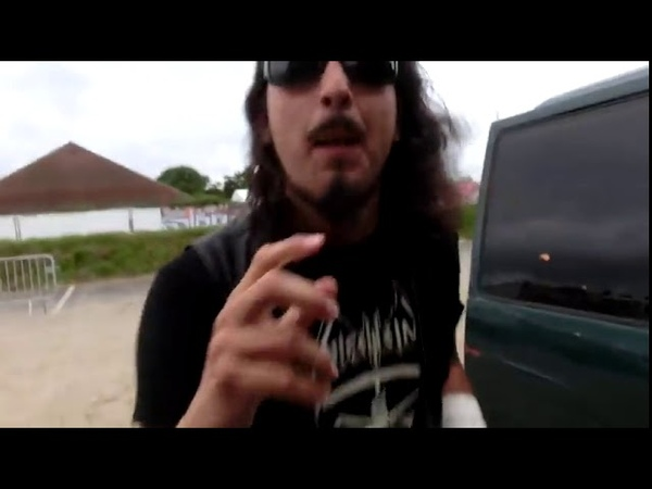 Members of Manilla Road, Watain, In Solitude, Singing Can I Play With Madness by Iron Maiden